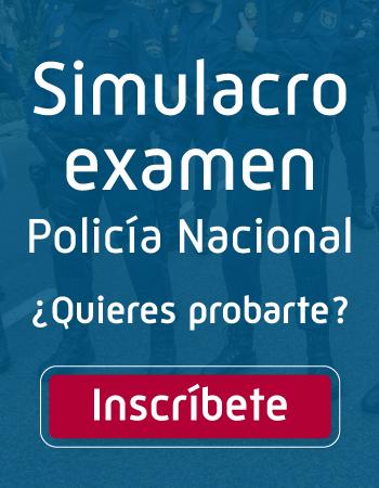Preparación examen policía nacional 2019