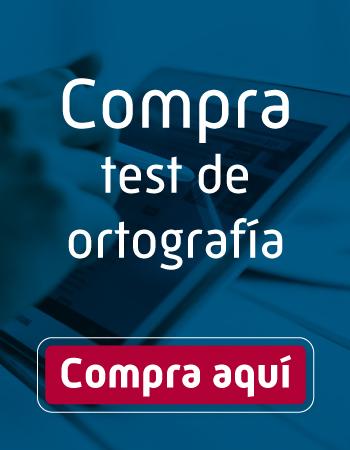 Comprar Test Ortografía Oposiciones
